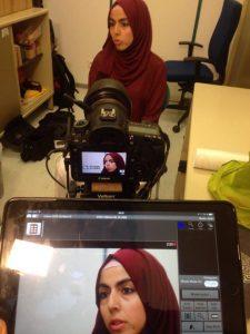 Elif Öztürk, Dokustelle für Muslime